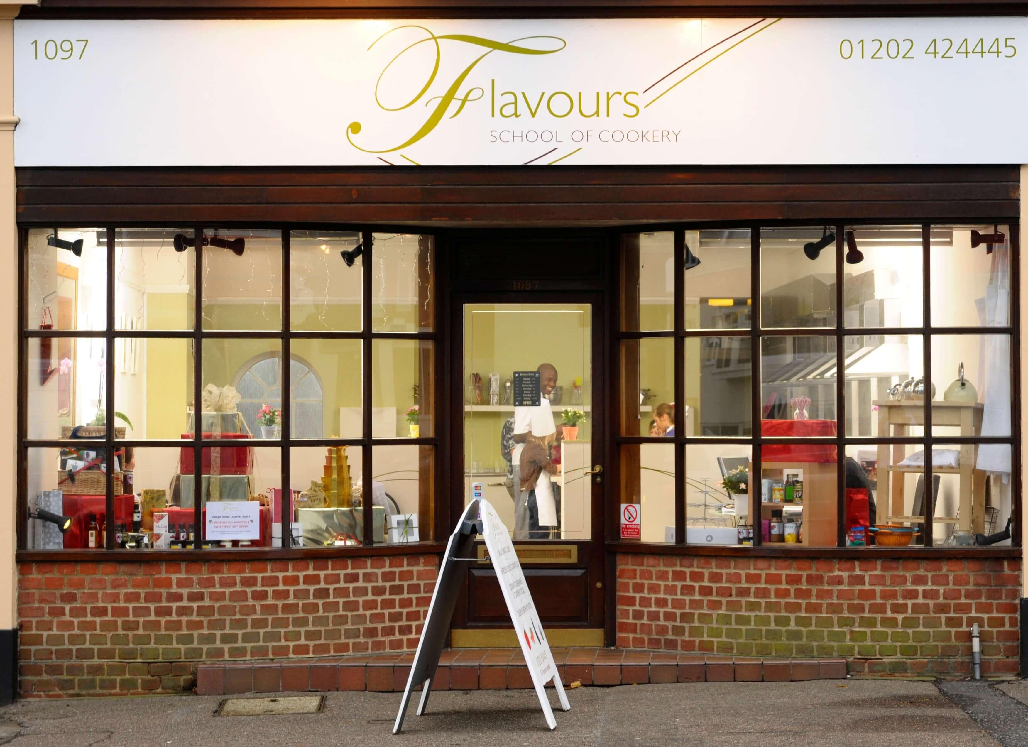 Flavours Shop Front